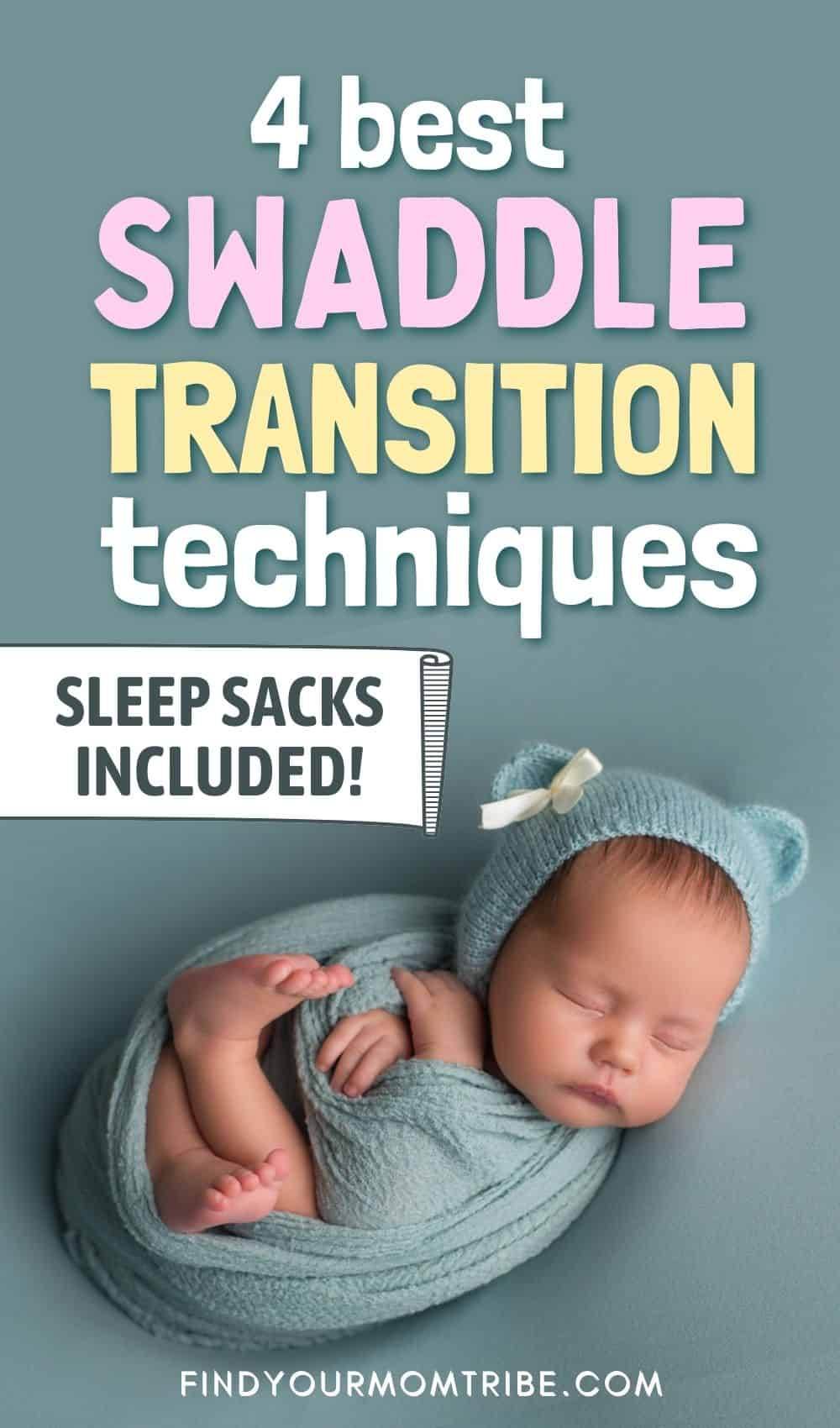 4 Best Swaddle Transition Techniques (Sleep Sacks Included!) Pinterest