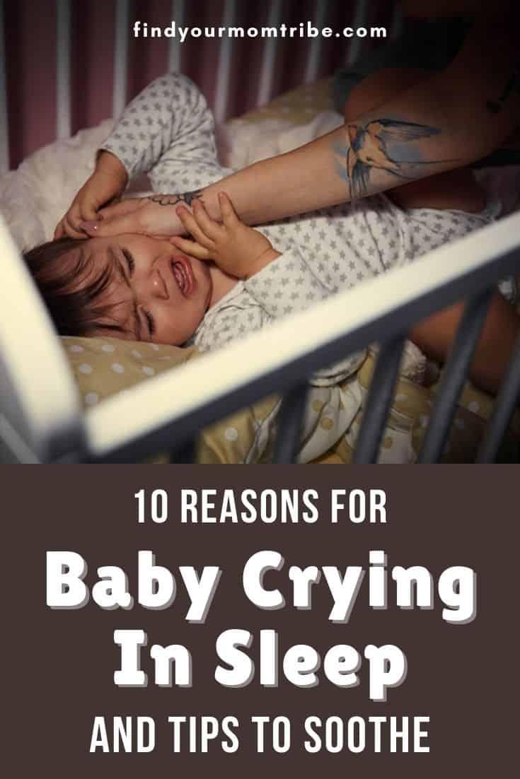 Baby Crying In Sleep