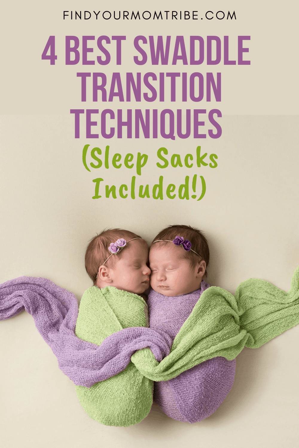 Pinterest swaddle transition