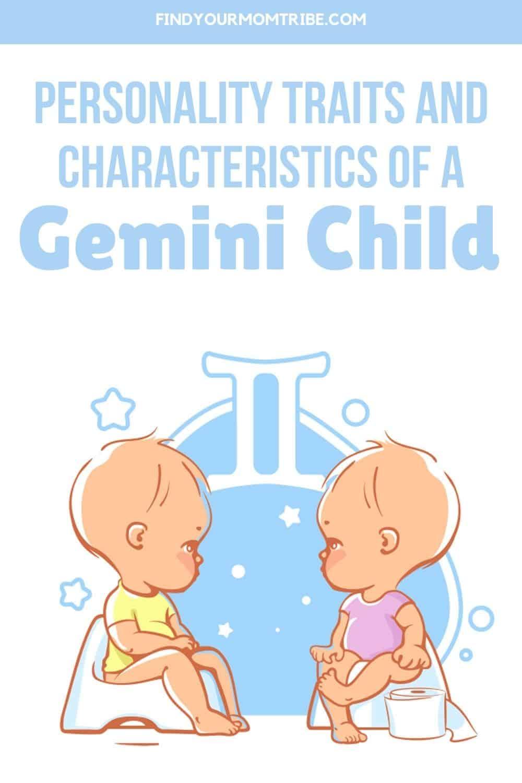 Personality Traits And Characteristics Of A Gemini Child