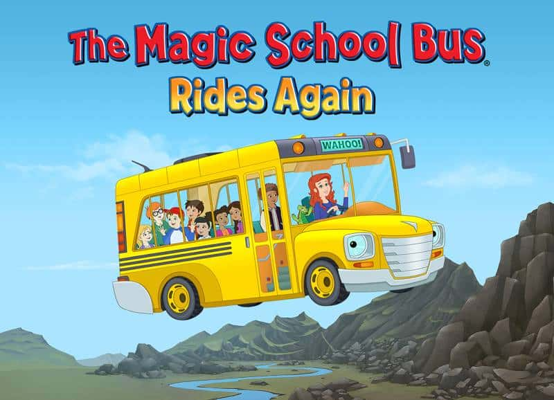 Yellow magic school bus