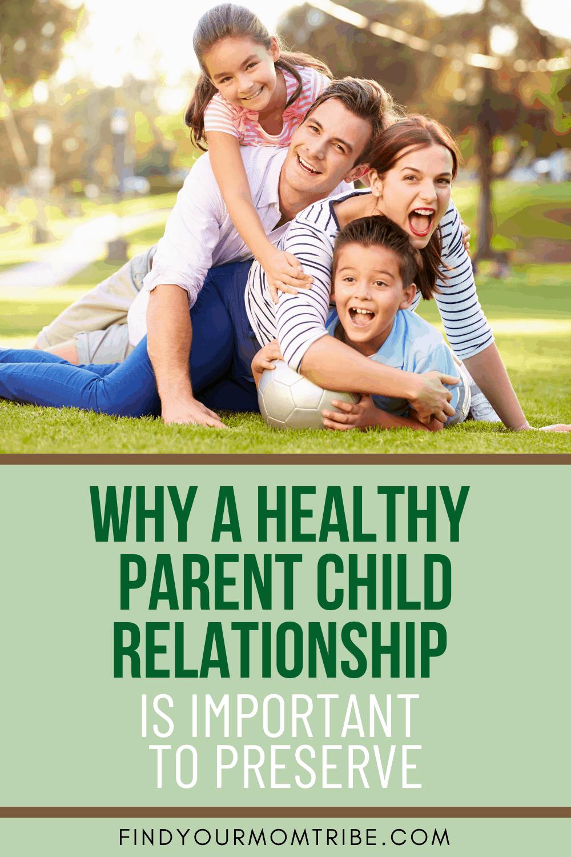 Pinterest parent child relationship