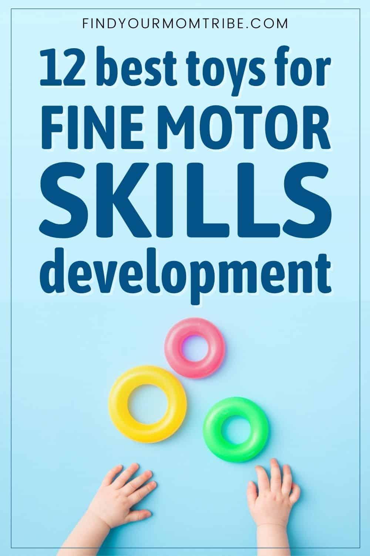 12 Best Toys For Fine Motor Skills Development Pinterest