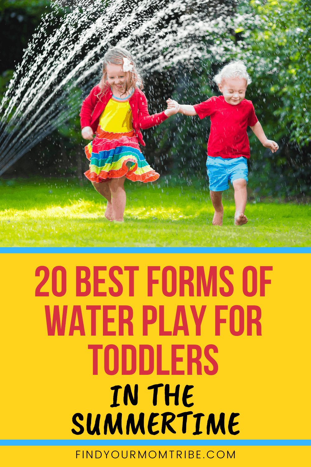 Pinterest water play for toddlers