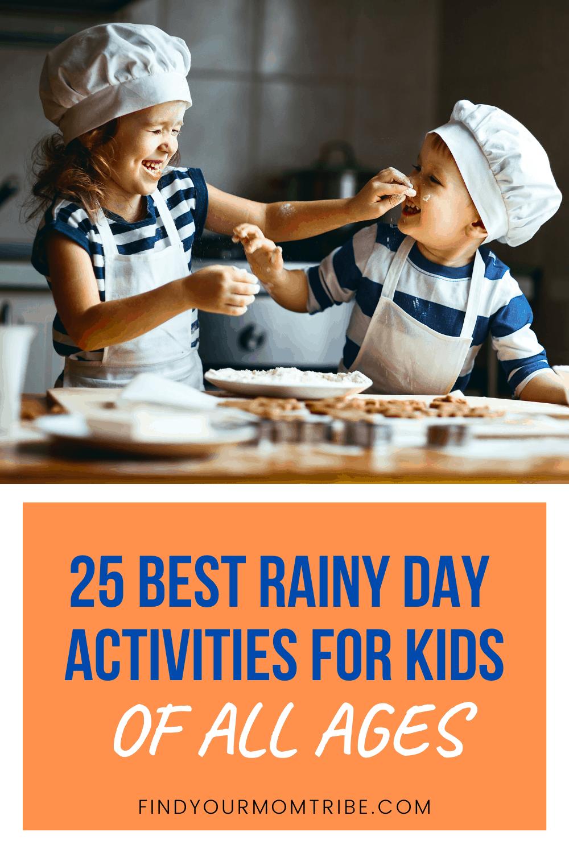 Pinterest Rainy Day Activities For Kids