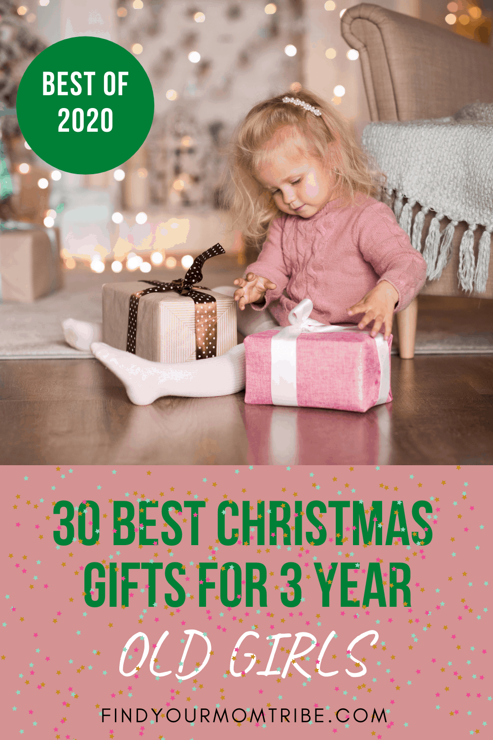 Pinterest christmas gifts for 3 year old girls