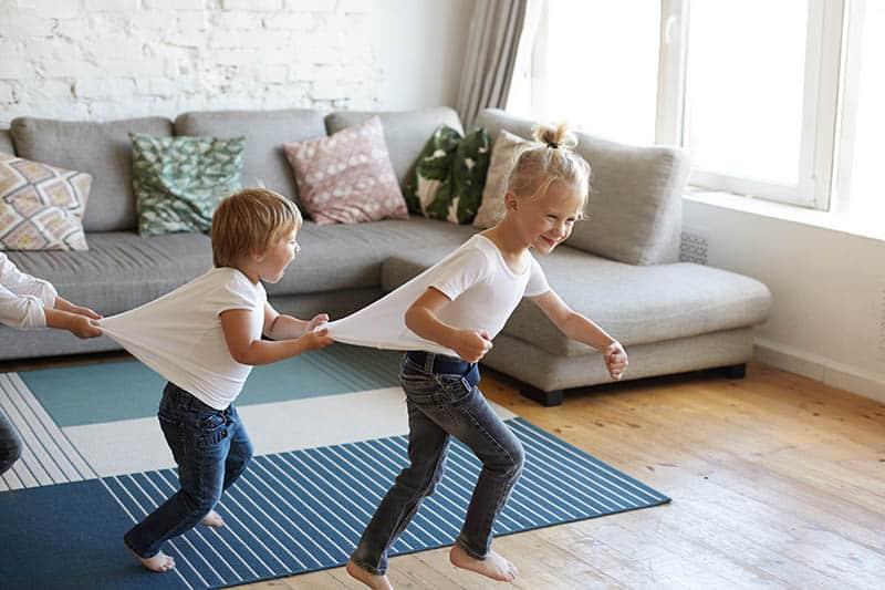 kids siblings playing having fun