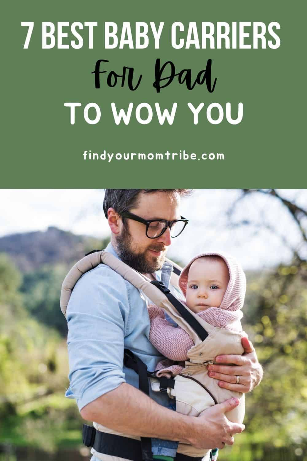 Pinterest baby carrier for dad