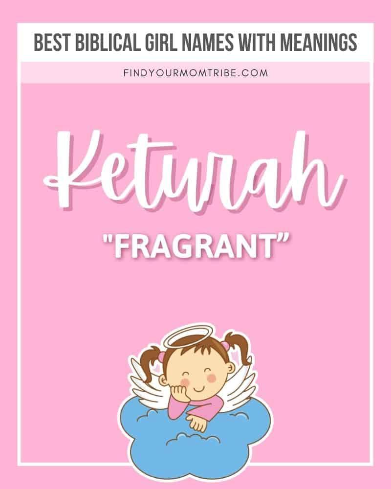 Illustrated name Keturah