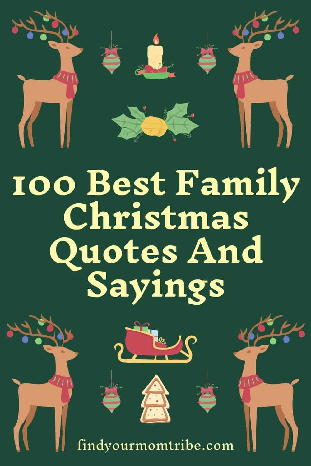 100 Best Family Christmas Quotes And Sayings
