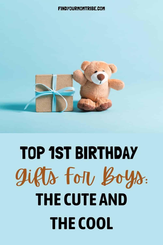 Pinterest 1st birthday gifts for boys