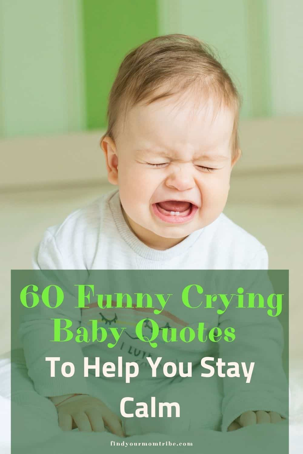 pinterest crying baby quotes