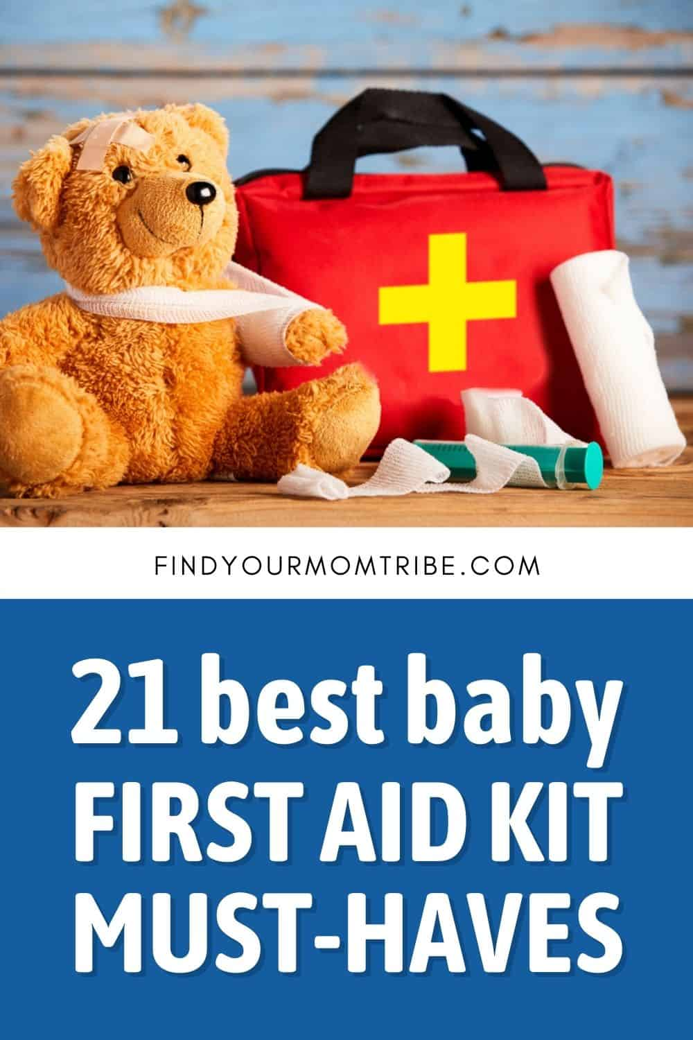 21 Best Baby First Aid Kit Must-Haves Pinterest