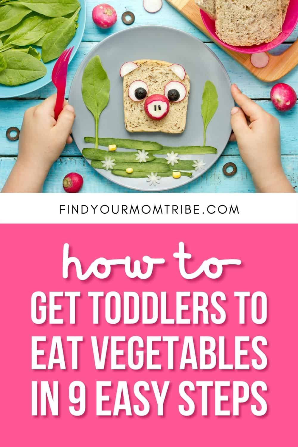 How To Get Toddlers To Eat Vegetables In 9 Easy Steps Pinterest