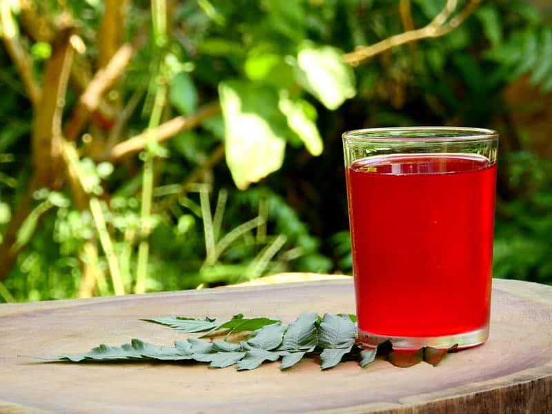 a glass of electrolyte sport juice
