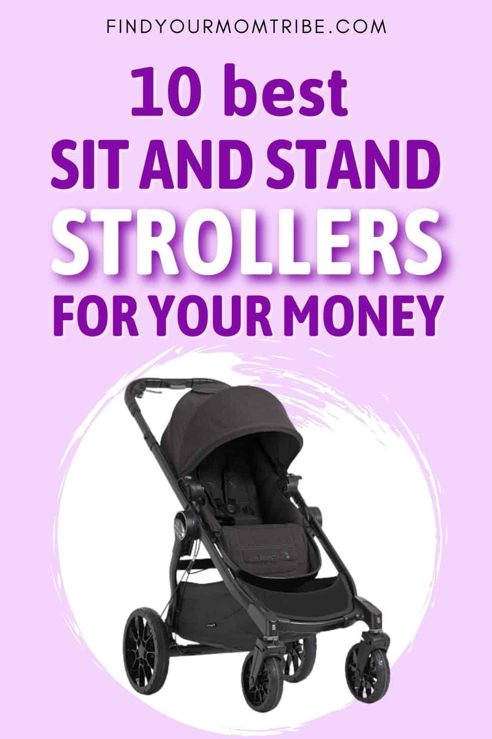 10 Best Sit And Stand Strollers Reviews Pinterest