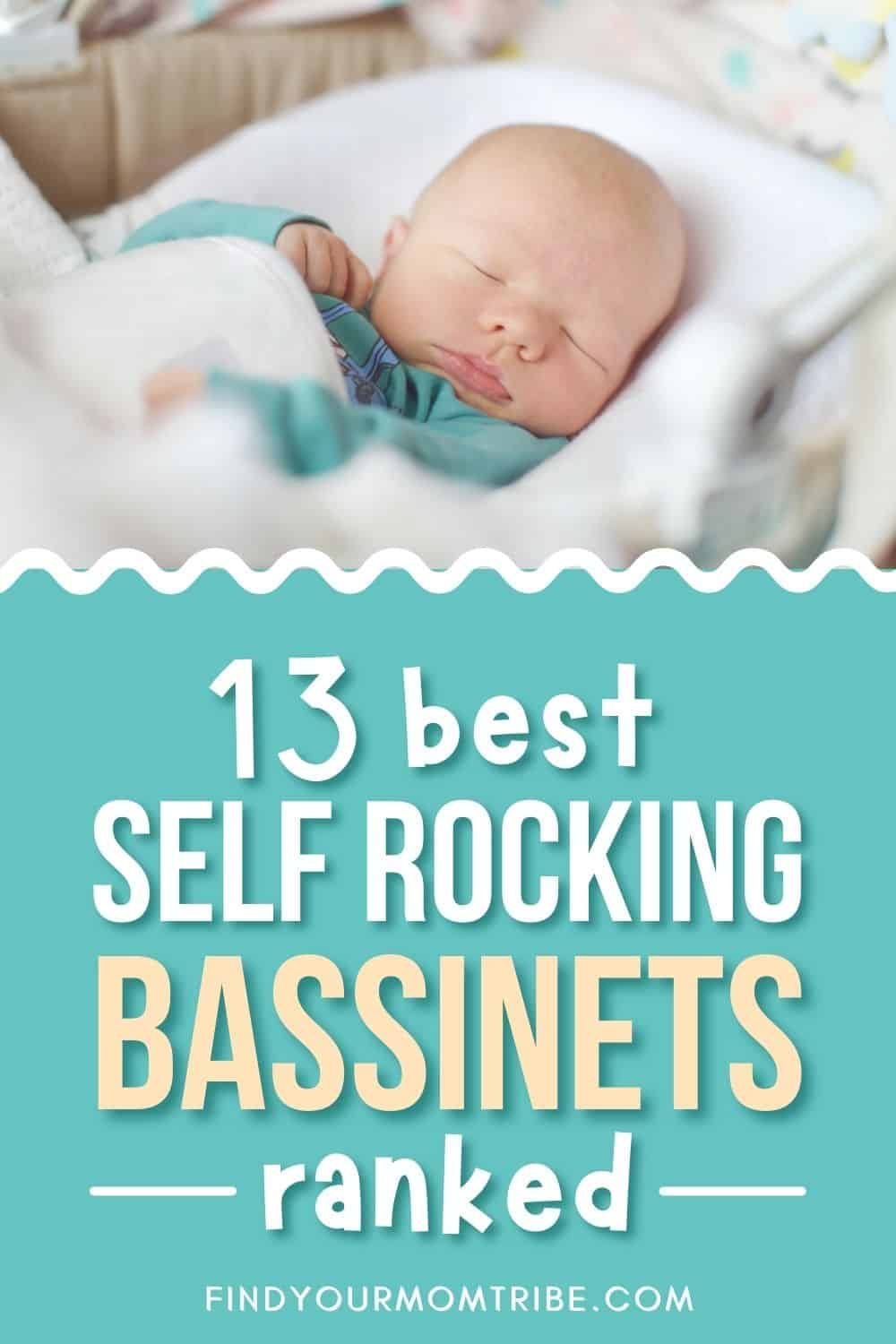 13 Best Self Rocking Bassinets In 2021 Ranked (Reviews) Pinterest