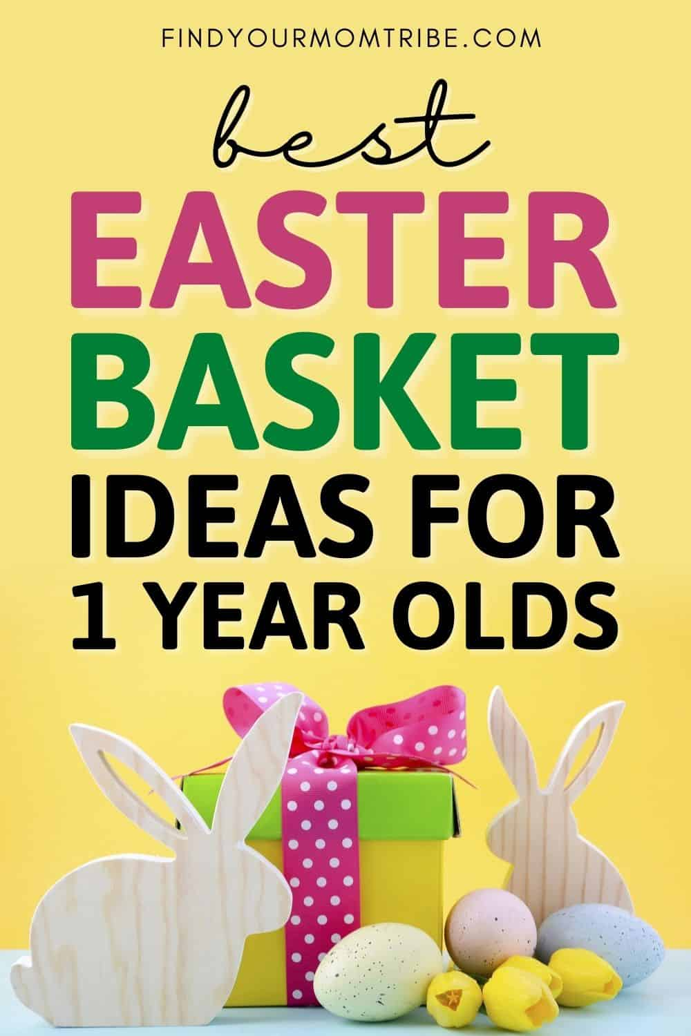38 Best Ideas For An Easter Basket For 1 Year Olds Pinterest