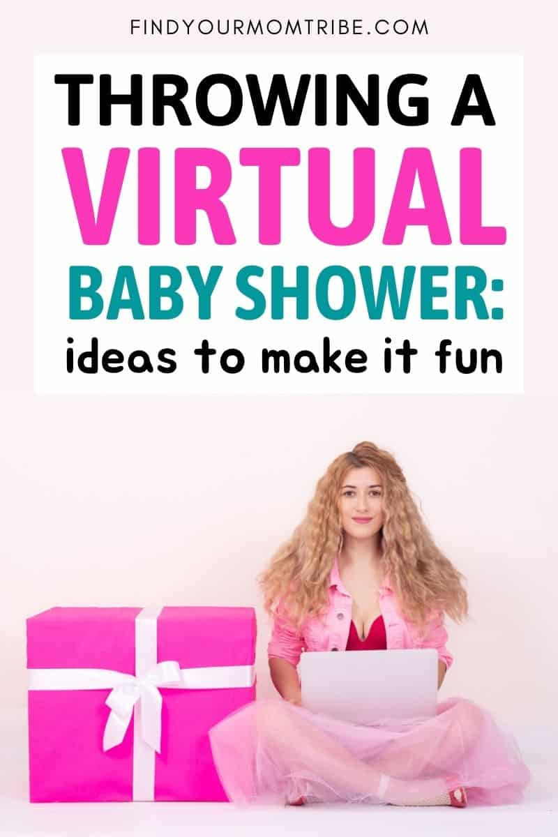 Throwing A Virtual Baby Shower