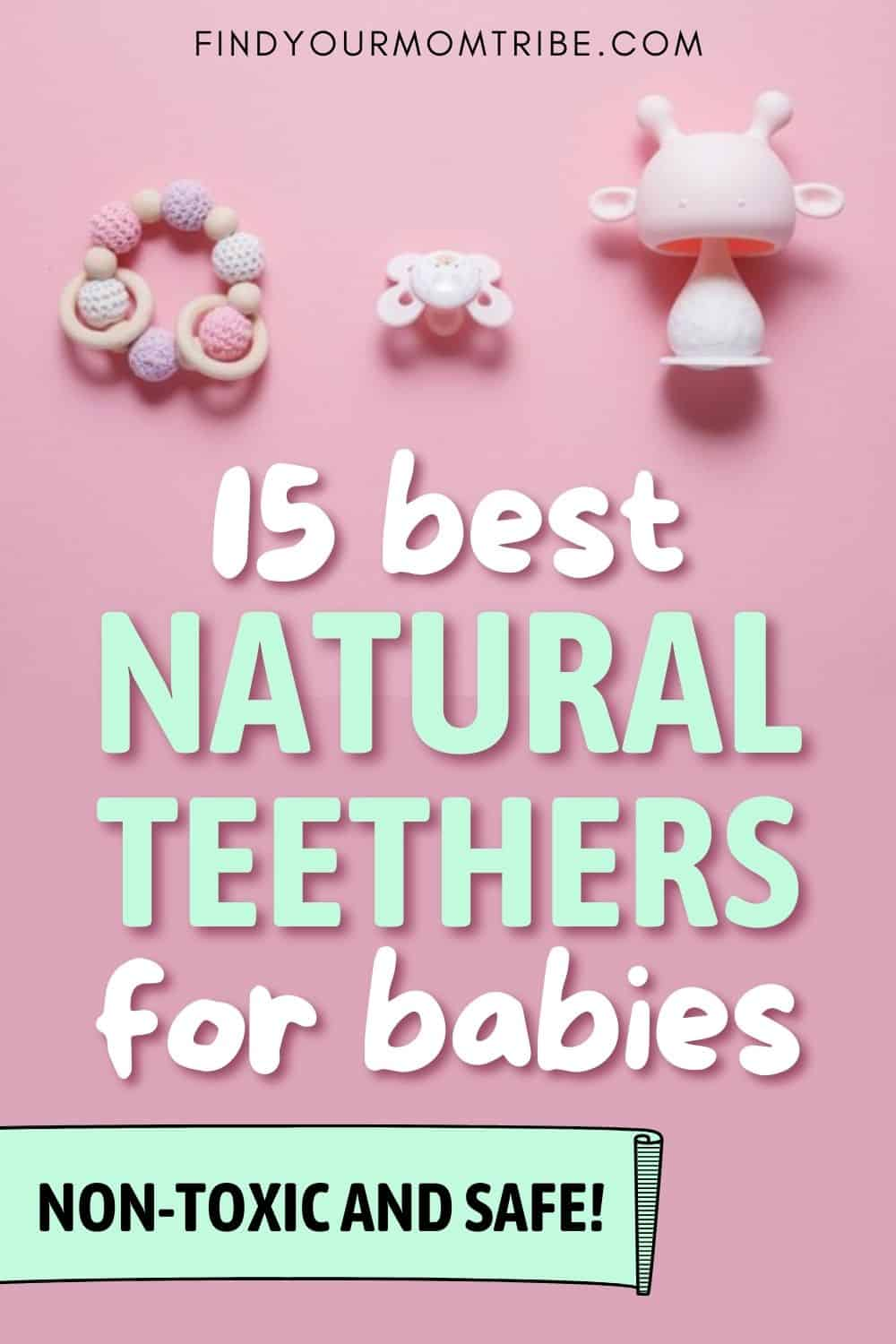 15 Best Natural Teethers For Babies Pinterest