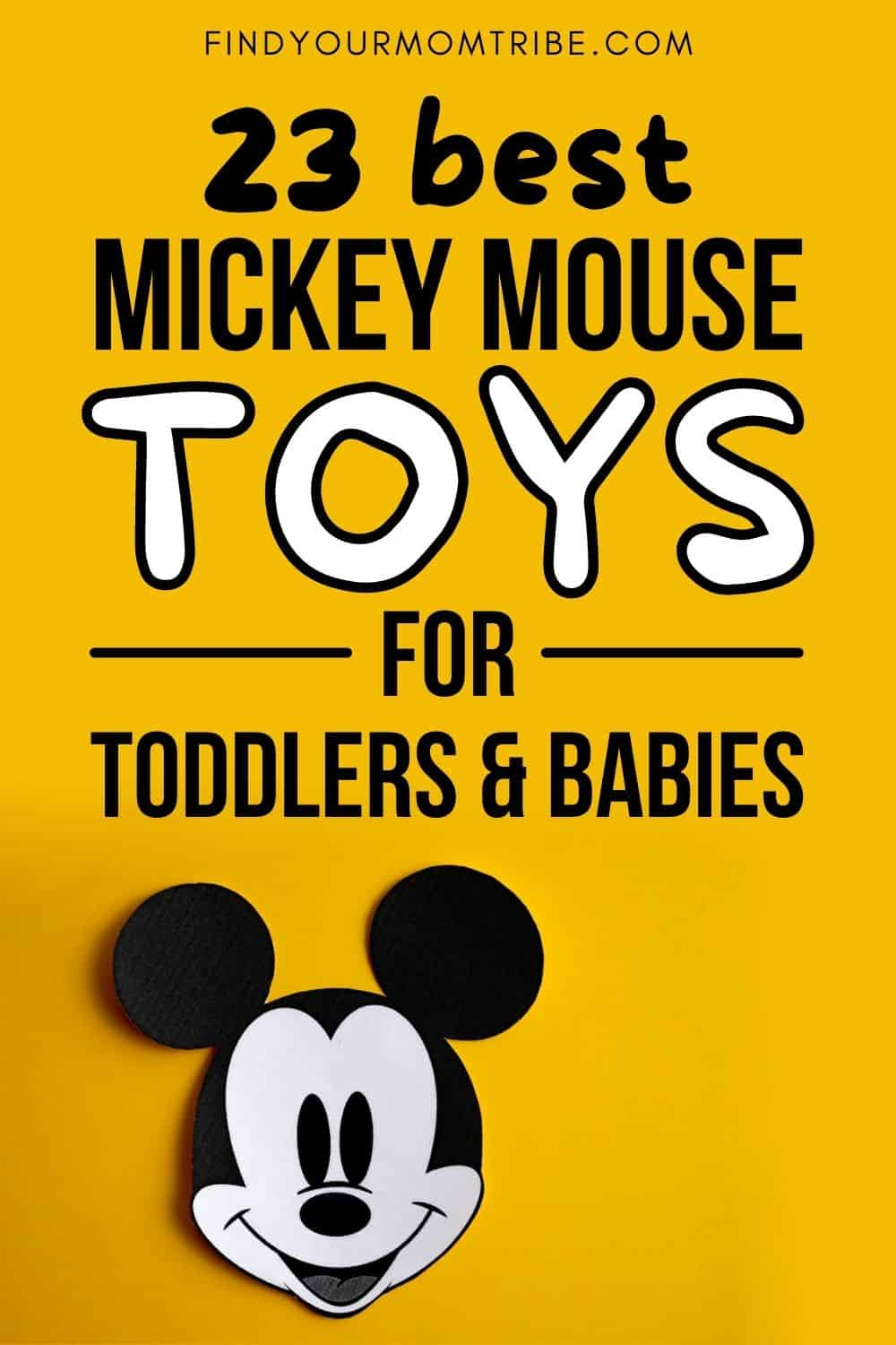 23 Best Mickey Mouse Toys For Toddlers And Babies Pinterest