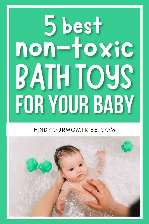 5 Best Non-Toxic Bath Toys Pinterest