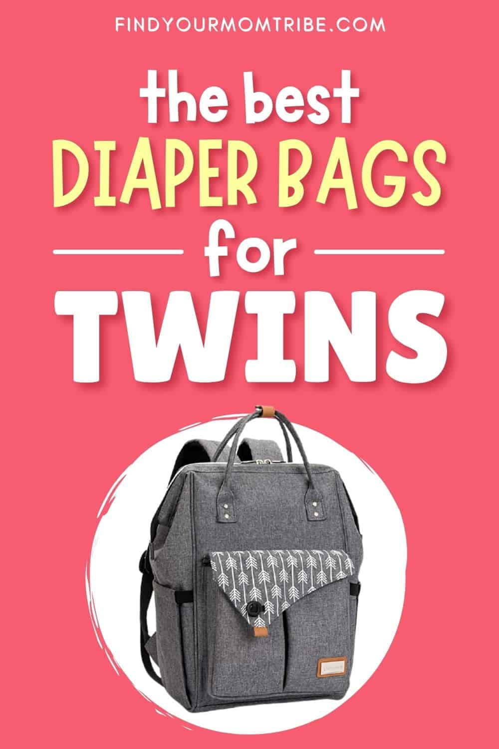 The Best Diaper Bag For Twins – 12 Top Choices Pinterest