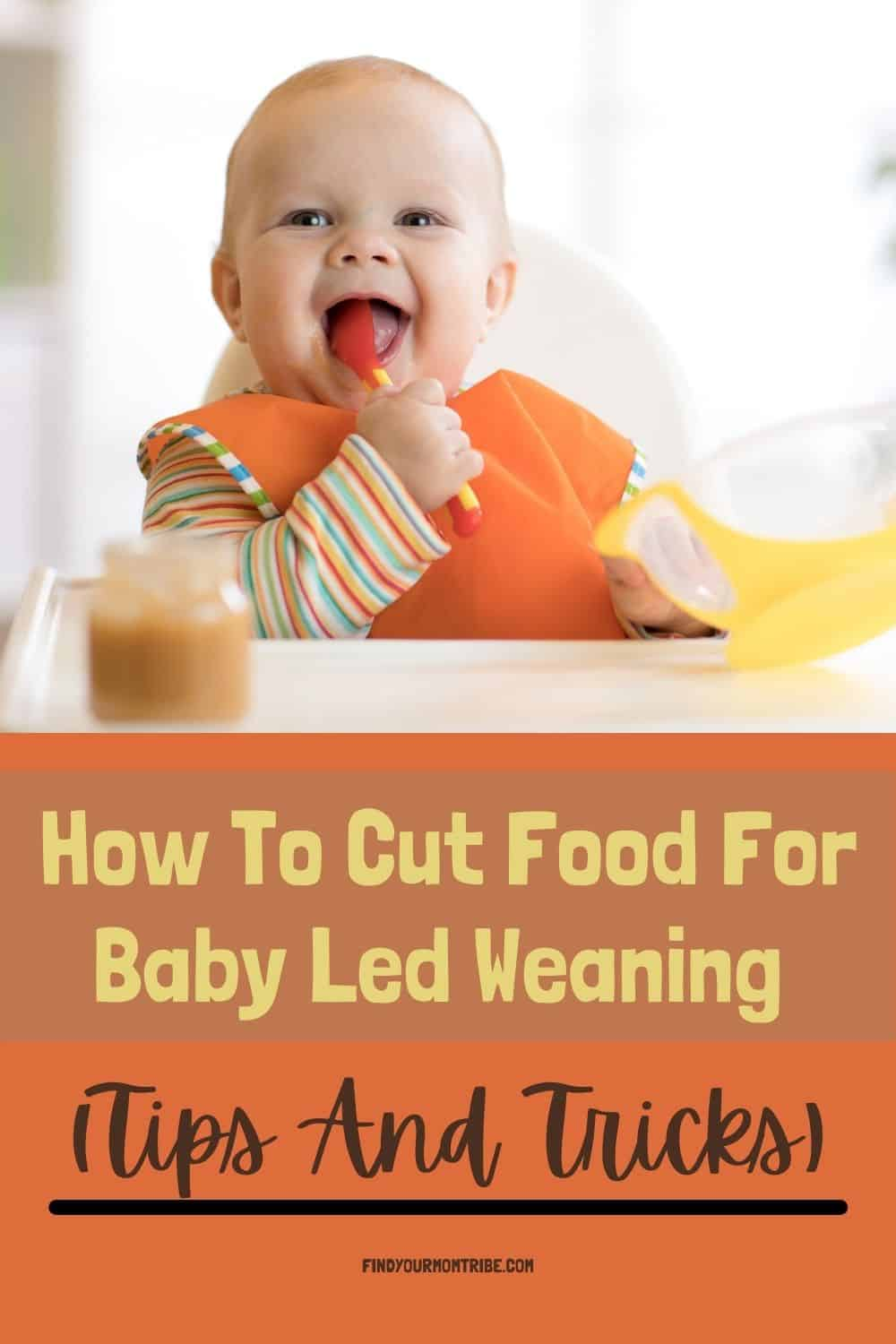 Pinterest how to cut food for baby led weaning