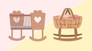 Cradle VS Bassinet concept