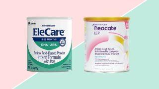 Elecare VS Neocate formula cans