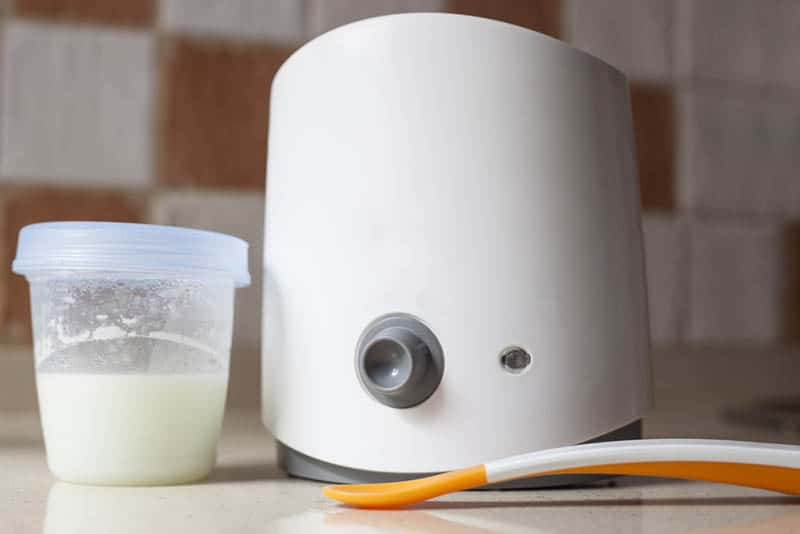 Electric baby food warmer used for heat breast milk
