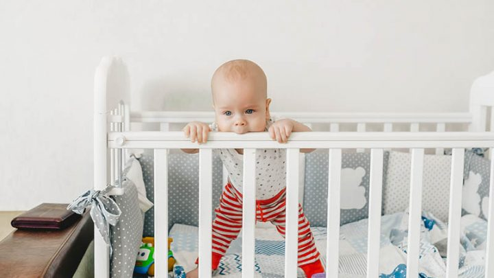 Baby Chewing On Crib Rails – Why It Happens And What You Can Do
