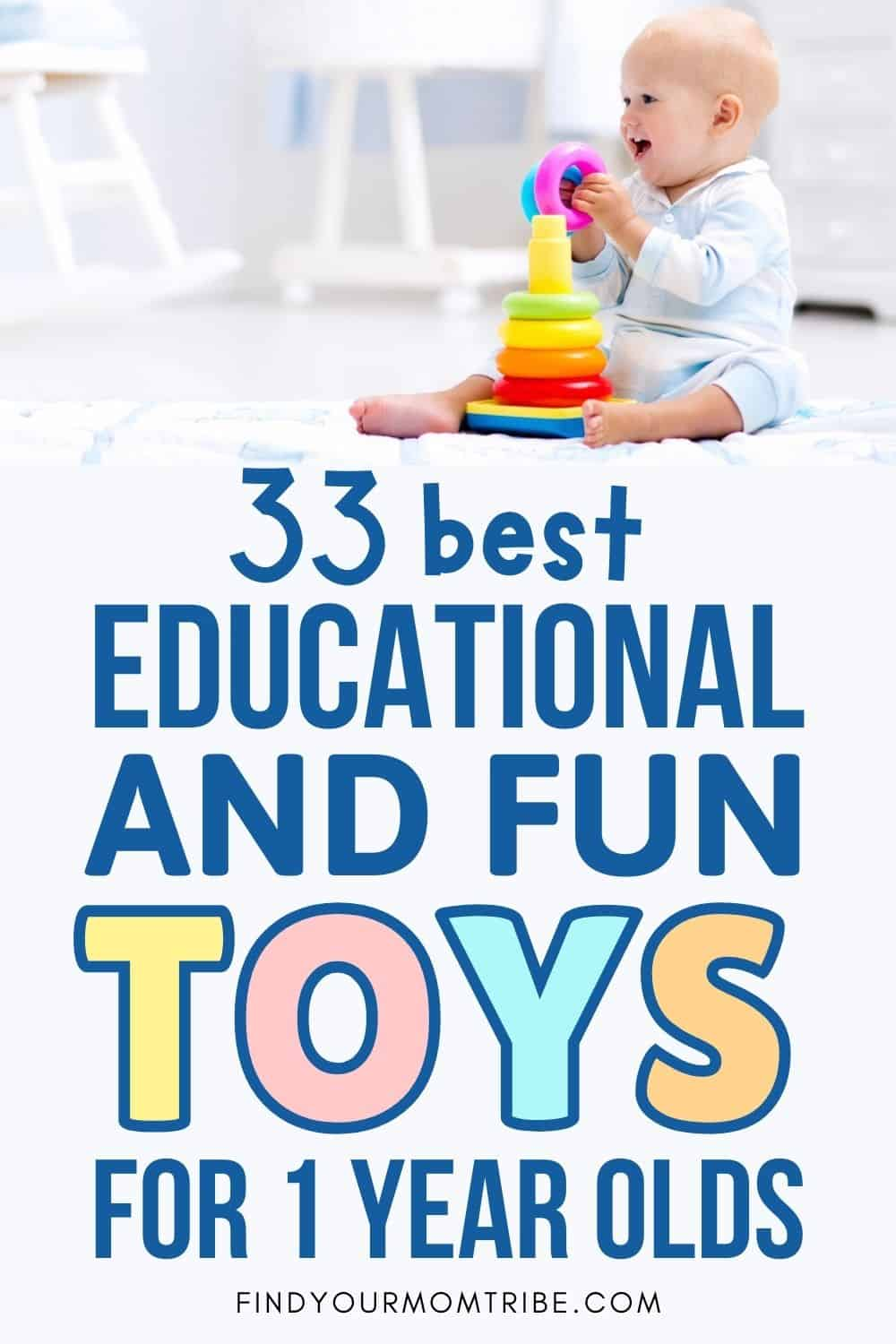 Best Educational And Fun Toys For 1 Year Olds Pinterest