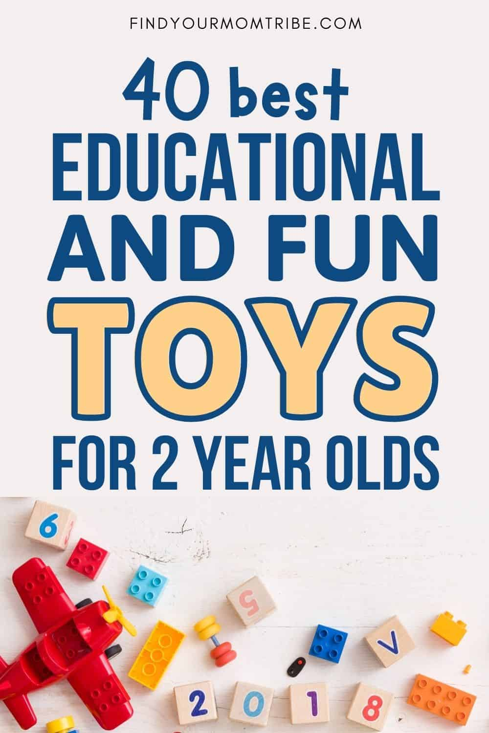 Best Educational And Fun Toys For 2 Year Olds Pinterest