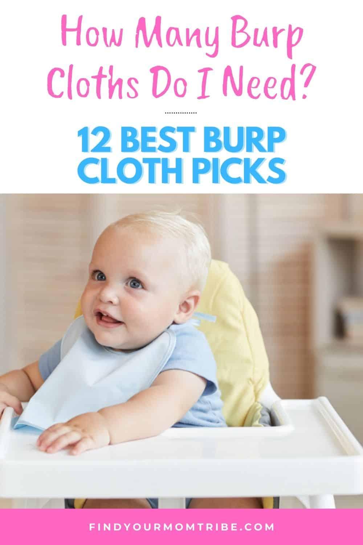 How Many Burp Cloths Do I Need