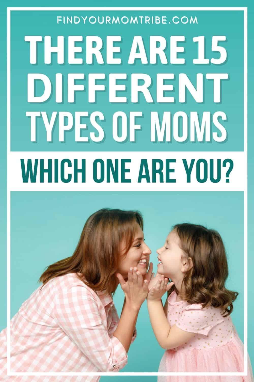 Types Of Moms Pinterest