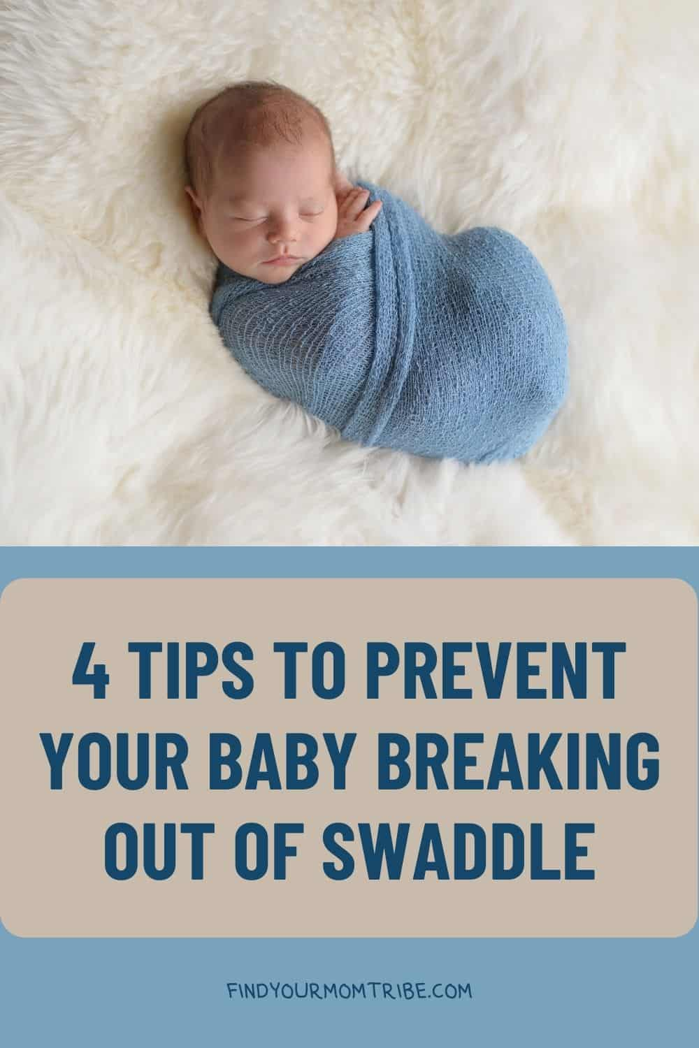 Pinterest baby breaking out of swaddle