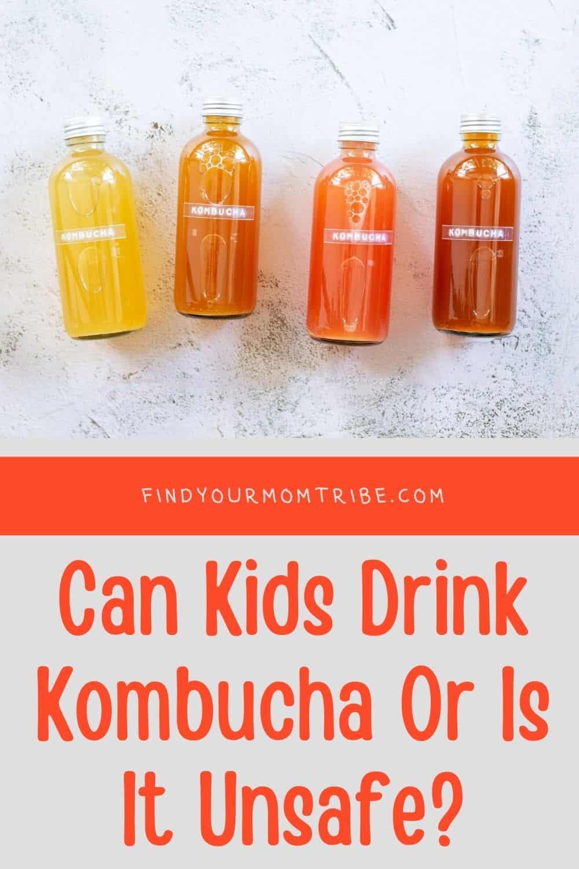 Pinterest can kids drink kombucha