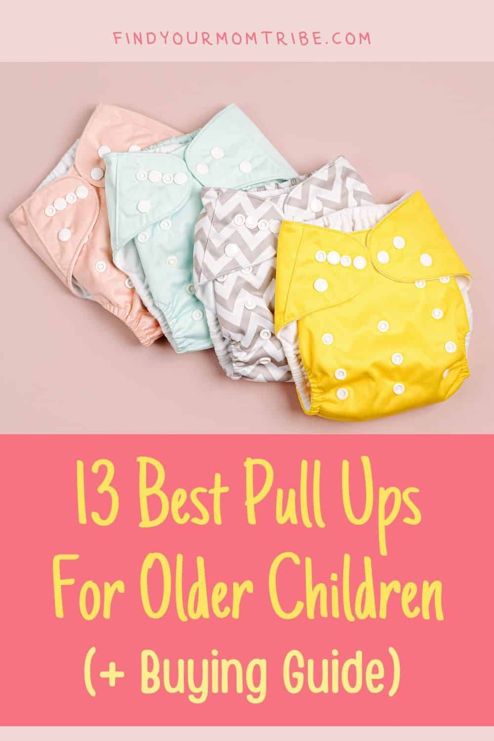 Pinterest pull ups for older child