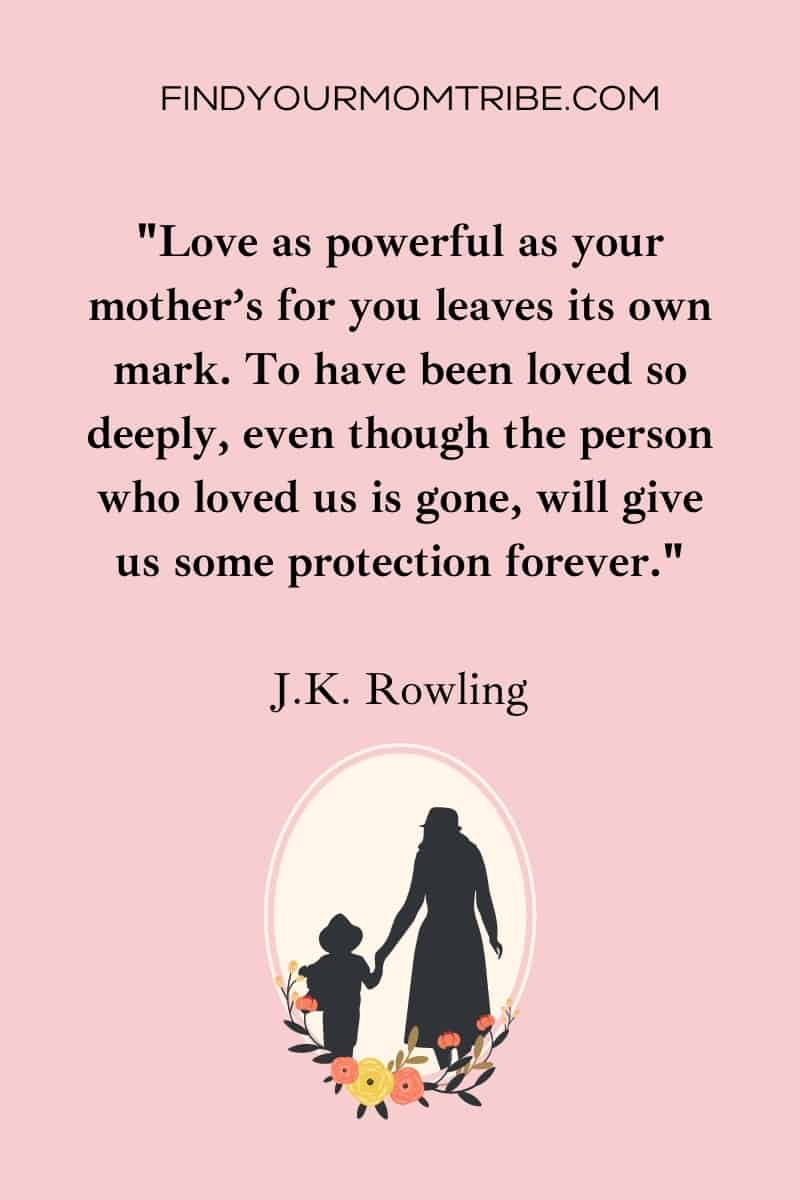 Love Quotes For Mothers Who Passed Away