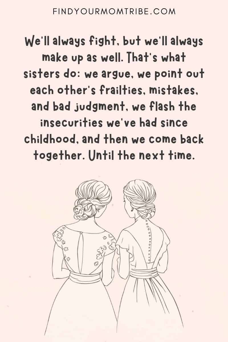 Inspirational Quotes About Sisters