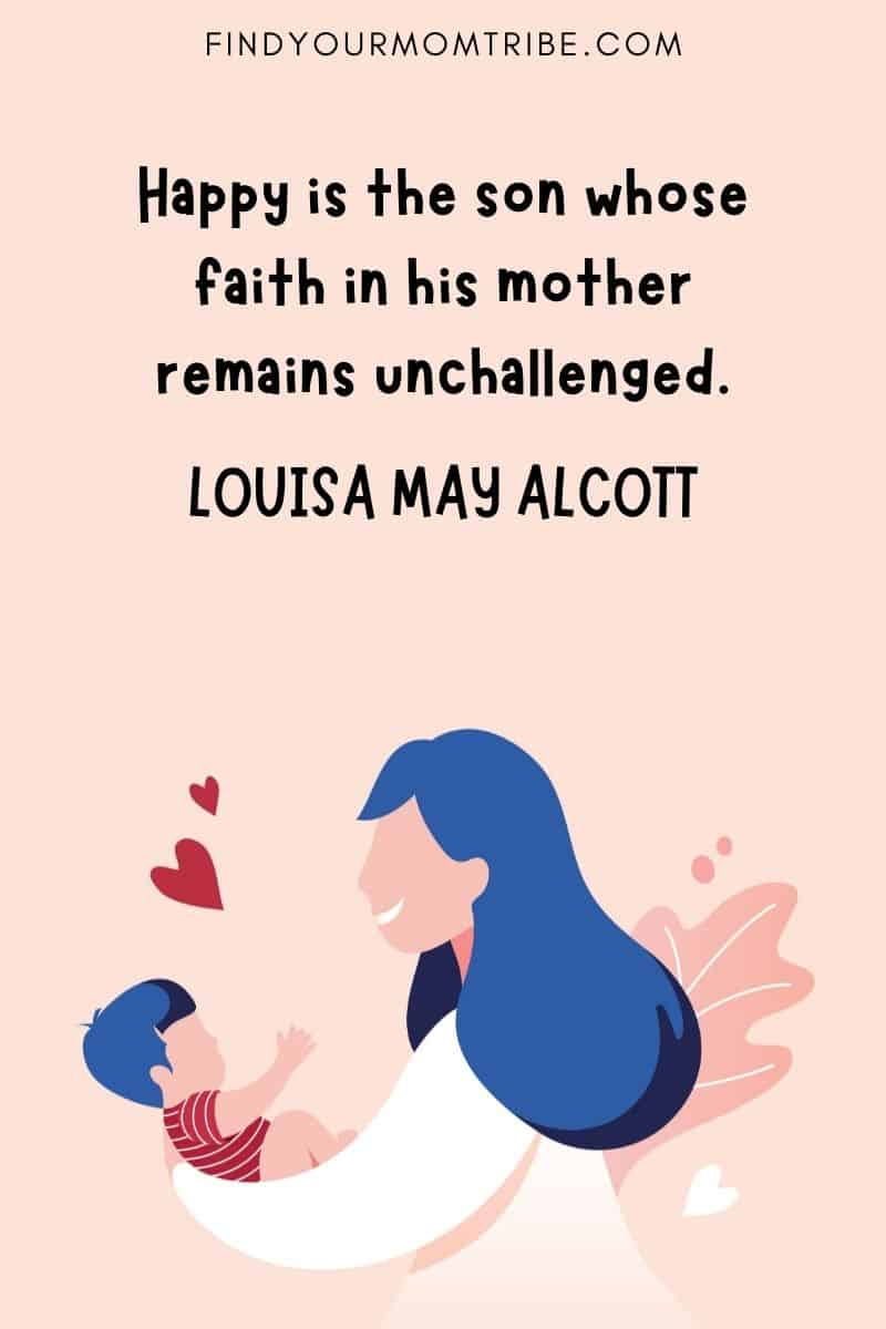Short Mother Son Quotes