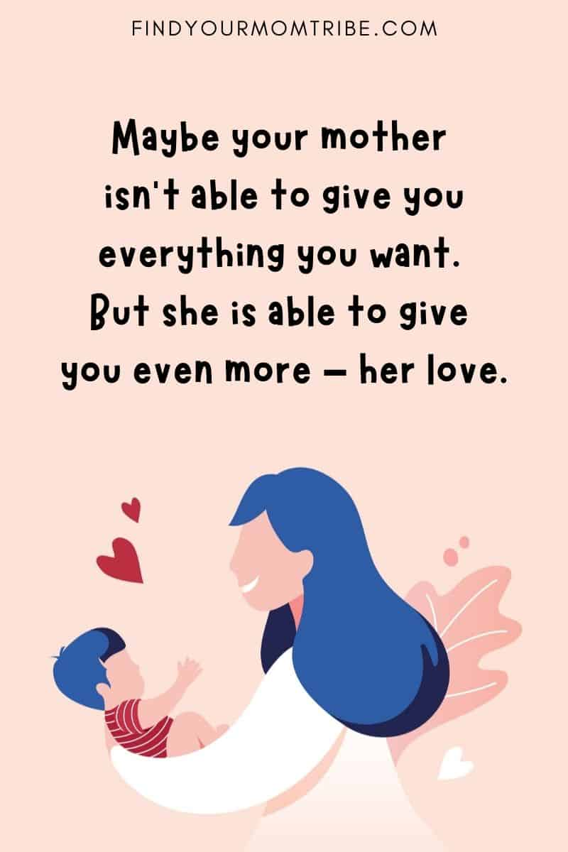 Inspirational Mother's Love Quotes
