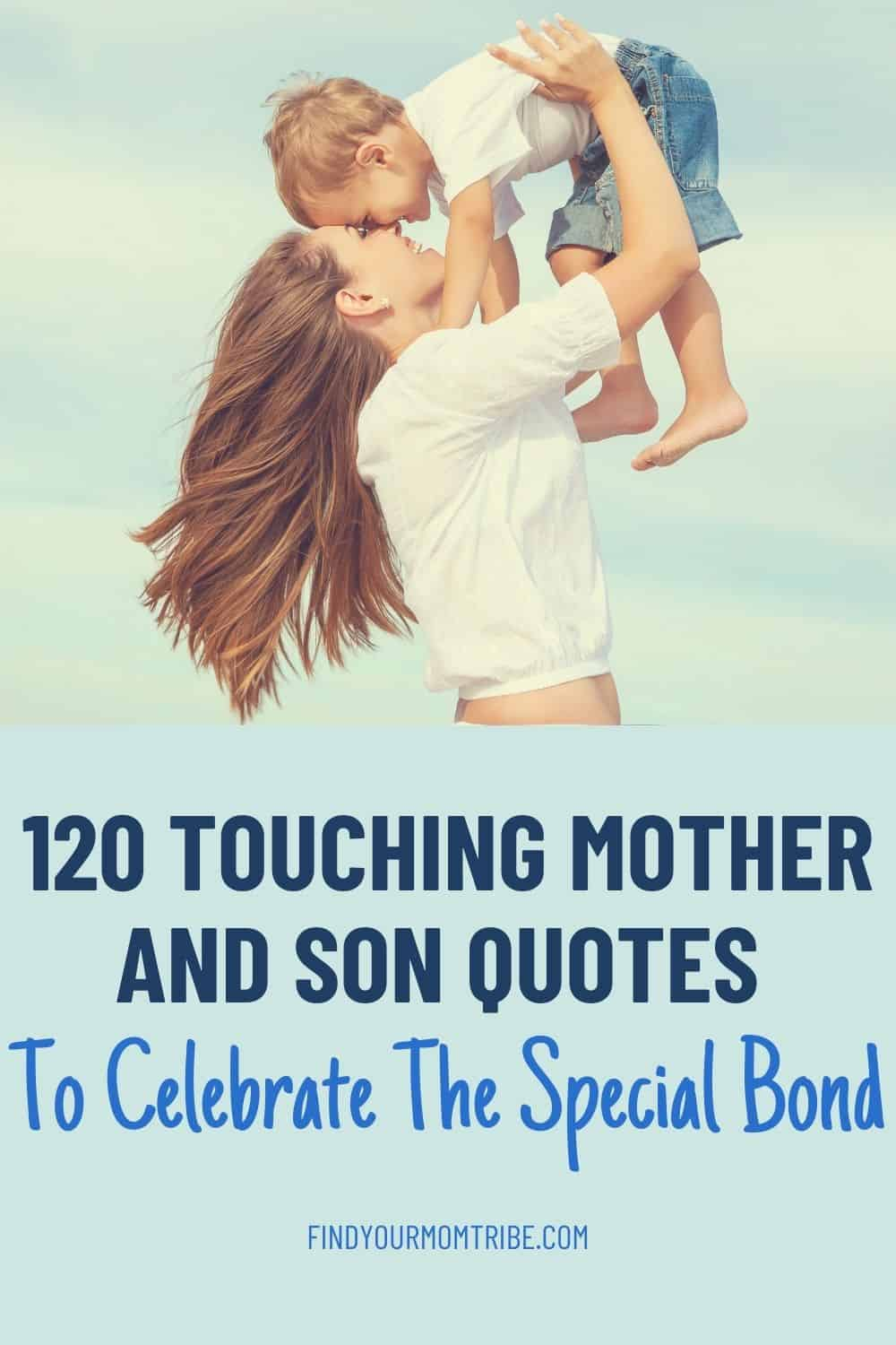 Pinterest mother and son quotes