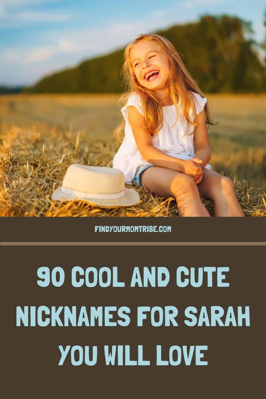 Pinterest nicknames for sarah