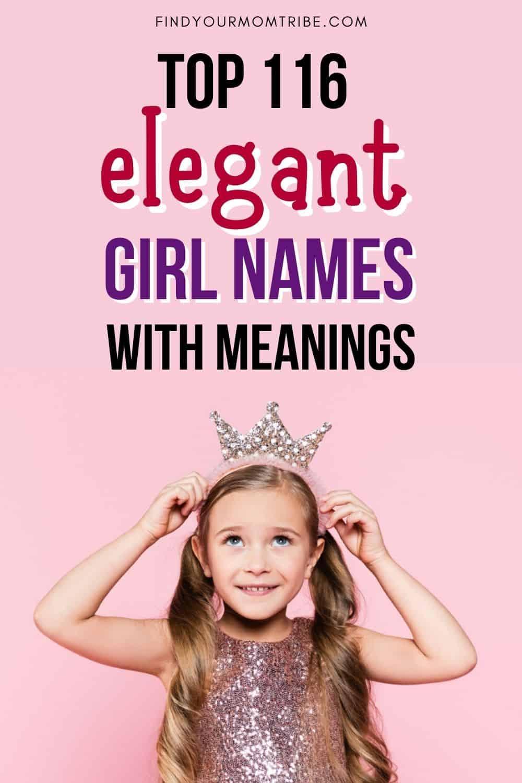 pinterest elegant girl names