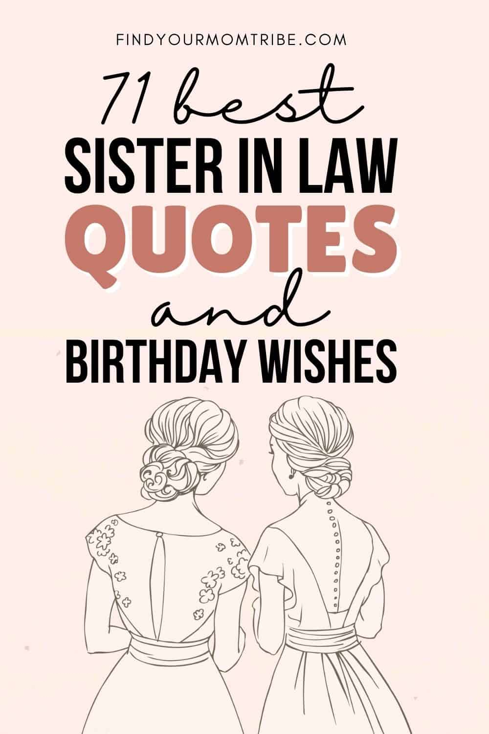sister in law quotes pinterest