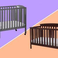 mini crib vs crib comparison illustration