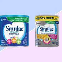 Similac Advance VS Pro Advance