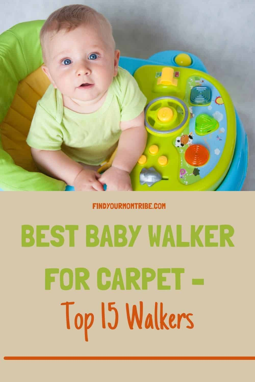 Pinterest best baby walker for carpet